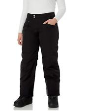 White Sierra Women Toboggan Insulated Pant Black Plus Size 1X 2739