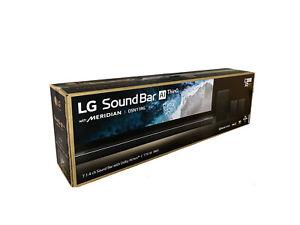 LG DSN11RG 7.1.4 Atmos Soundbar Wireless Aktiv Subwoofer Lautsprecher 4K HDMI