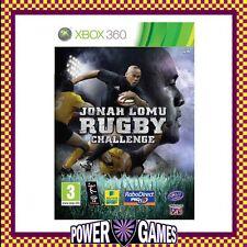 JONAH LOMU RUGBY CHALLENGE (Microsoft Xbox 360) Brand New