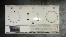 CATA EF60SS2 compatible oven front panel decal, stickers, may fit others.