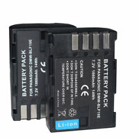 2x DMW-BLF19 DMW-BLF19e Battery for Panasonic Lumix DC-G9EB-K Mirrorless Camera