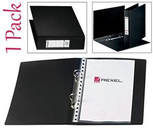 Rexel A5 Budget Two Ring Binder - Black