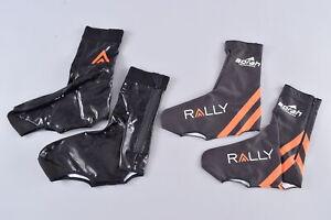 LOT of 2 Borah Teamwear Cycling Winter Shoe Covers Size 41/42 Rally Pro Cycling