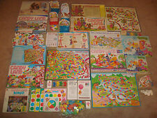 CANDY LAND Board Game LOT Bingo Sweet Celebration Puzzle Winnie the Pooh Vintage