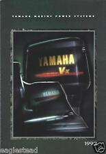 Boat Motor Brochure - Yamaha - Product Line Outboards - Foldout - 1993 (SH78)