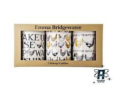 VINTAGE EMMA BRIDGEWATER HENS TEA COFFEE SUGAR CADDY STORAGE CONTAINER TIN