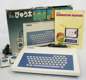 PYUTA Tutor 16BIT Graphic Computer TP-1000 Console System Tested TOMY 006896