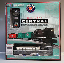 LIONEL NYC RS-3 LIONCHIEF REMOTE CONTROL O GAUGE TRAIN SET fastrack 6-82984 NEW