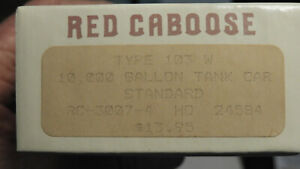 Red Caboose Type 103W 10k Tank Car Standard Oil