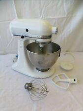 KitchenAid Ultra Power White Tilt-Head Mixer