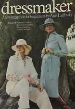 More details for vintage 1976 dressmaker bbc book with sewing patterns by ann ladbury ns