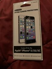 Fitted Screen Protector Apple iPhone 5 5S 5C WriteRight Pack Of 2 NEW
