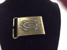 Brass Belt Buckle North & Judd
