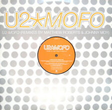 U2, MOFO (Remixes), NEW/MINT U.K. promo 12 inch vinyl single (12mofo1)