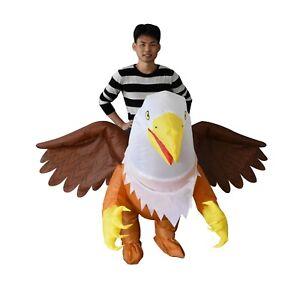 The Turtle Market, Inflatable Adult Ride-on Hawk Costume; Unisex