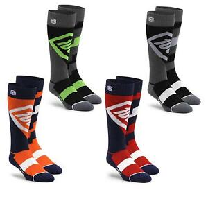 100% Prozent Torque MX Knie Socken Moto Cross Komfort Sock MTB Motorrad Enduro
