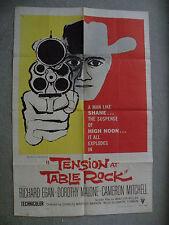 Tension at Table Rock Richard Egan1956 27X41 originial poster #56/421