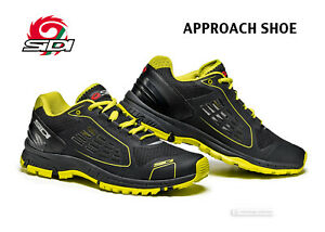 Sidi APPROACH Moto Urban Bicycle Casual Shoes : BLACK/YELLOW - NEW IN BOX