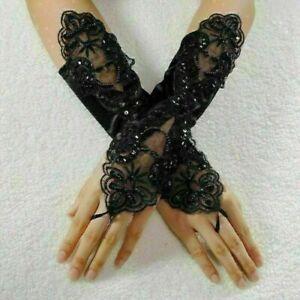 Fingerlose Braut Handschuhe Spitze Hochzeitshandschuhe Hochzeit Zubehör