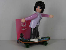 G9-Playmobil Figur- Figuren Serie 9 Girls , Skaterin / Frau auf Skateboard