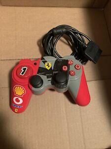Thrustmaster Ferrari Wired Controller Scuderia Analog Play Station