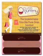 Purse Gummy® Stop Strap Slips;Keep your bag & purse secure;anti-slip grip strip
