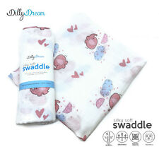 Elephant SilkySoft Swaddle Bamboo Blankets - ON 30% SALE