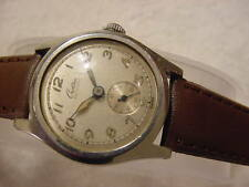 Vintage antique WWII World War II MILITARY CROTON AQUAMATIC mens watch .. NR