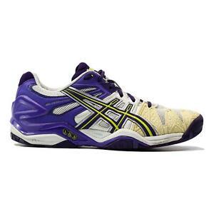 Asics Gel Resolution Parachute Purple Lime Running Shoe Women Size 10.5 E350Y