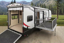 NEW 2018 STRYKER 3212 TRAVEL TRAILER TOY HAULER SIDE PATIO 12 6 GARAGE MUST SEE