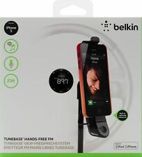 Belkin TuneBase Hands Free FM Transmitter with Lightning Connector for iPhone 5