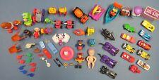 Vintage Lot of 64 Hot Wheels Cracker Jack McDonalds Happy Meal Toddler Kids Toys