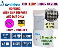 AHD/CVI/TVI/Analog 4 In 1 Hidden Camera 3.0 MP, 3.7mm Pinhole Lens,48 IR
