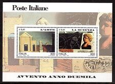 Italy - 2000 Millennium / Science - Mi. Bl. 21 MNH