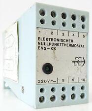 NOVOCONTROL EVS-KK Elektronischer Nullpunktthermostat Nullpunkt Thermostat 220V~