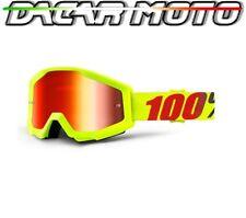 Panel Gafas 100% Strata Off Road Moto Enduro Cross Lentes Espejo+