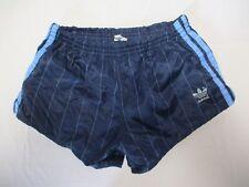 Short ADIDAS vintage nylon bleu marine années 80 sport collection 80 S D 4