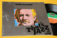 MOSE ALLISON LP TOP JAZZ GERMANY 1976 MINT GIMMIX LAMINATED