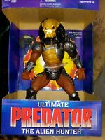 "KENNER ULTIMATE PREDATOR ALIEN HUNTER 10"" TALL ACTION FIGURE,1995 NEW SEALED MIB"