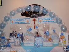 Lien rapide de liaison Ballon DIY Party baptême mariage Arch baby blue & white