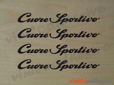 PEGATINA / STICKER / VINILO / Alfa Romeo cuore Sportivo