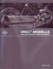 HARLEY Wartungshandbuch 2008 VRSC DEUTSCH 99501-08GB Buch Anleitung Reparatur