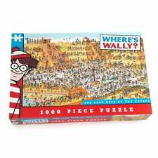 Paul Lamond Games Where's Wally Aztec 1000 Piece Family Jigsaw Puzzle UG5905