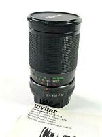 Pentax Vivitar 28-80mm f3.5-4.5 P/K manual focus Macro Zoom lens and Manual