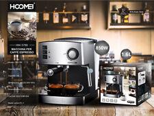 Hoomei Macchina per Caffè Espresso con Beccuccio vapore professionale a Polvere