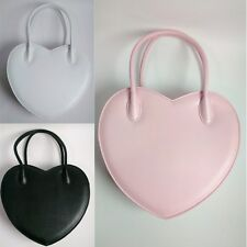 Girl Lolita Heart Shaped Handbag Makeup Shoulder Bag Messenger Satchel Purse New