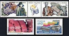 1986 ITALIA LAVORO ITALIANO NEL MONDO SERIE 4 VAL.APPENDICE  NUOVO ** MNH (C1775