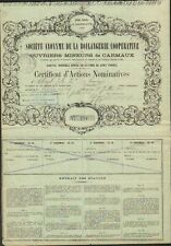 RARE => BOULANGERIE COOPÉRATIVE des OUVRIERS MINEURS DE CARMAUX (TARN 81) (H)