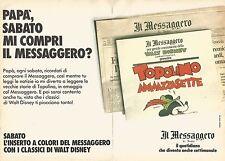 X0564 Il Messaggero di Roma - Pubblicità del 1989 - Vintage advertising