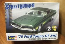Revell '70 Ford Torino Gt Model Kit 1/25 Scale Factory Sealed